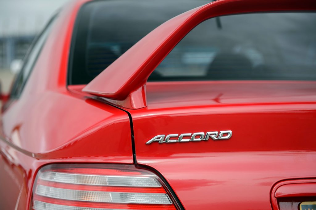 1998 Honda Accord Type R badge