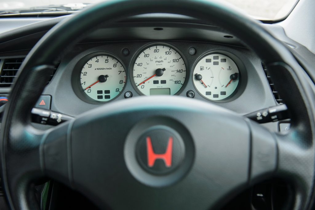 1998 Honda Accord Type R dials