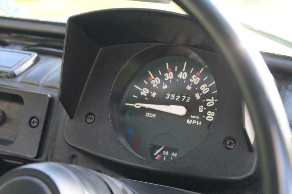 1972 Fiat 126 Jolly speedometer