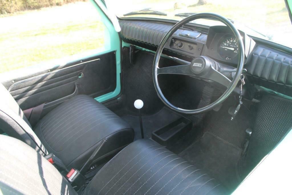 1972 Fiat 126 Jolly interior