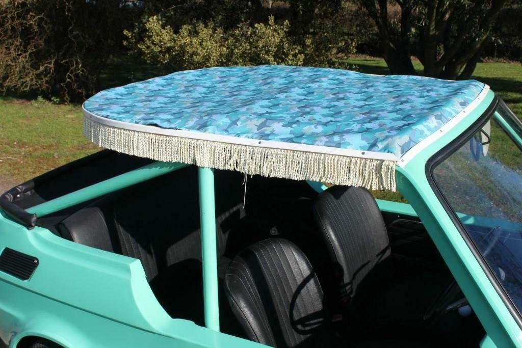 1972 Fiat 126 Jolly roof