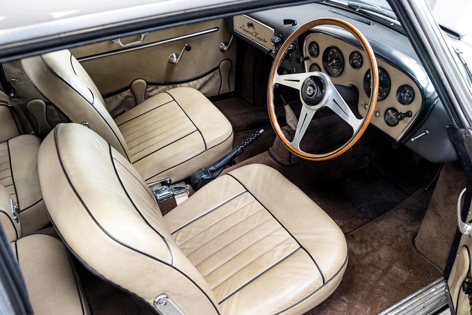 1960 Bristol 406 Zagato interior