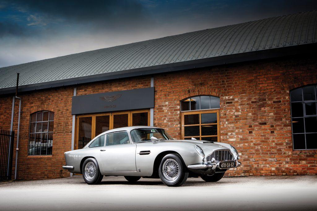 1965 Aston Martin DB5, Thunderball and Goldfinger