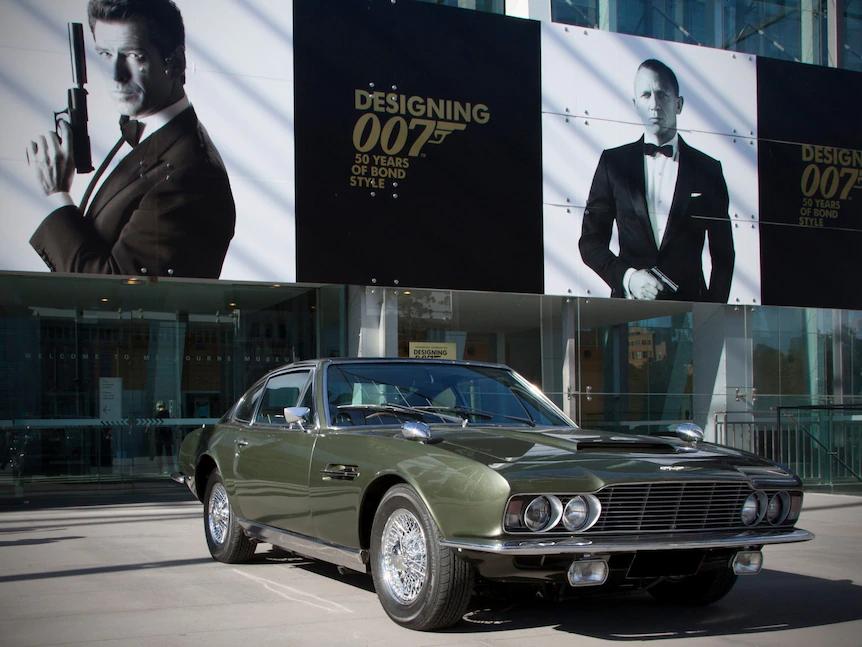 Bond car values. Owner Sigi Zidziunas bought the original Aston Martin DBS-6 without knowing its past. Photo: Sigi Zidziunas