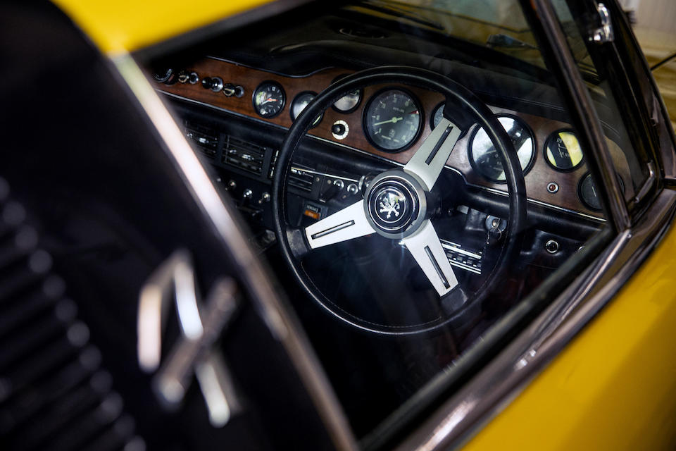 1971 Iso Grifo 7.4-Litre Series II Coupé interior