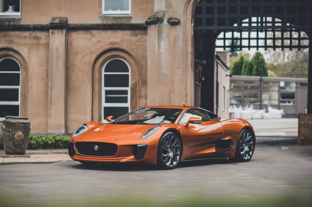 2015 Jaguar CX75 from Spectre Bond film