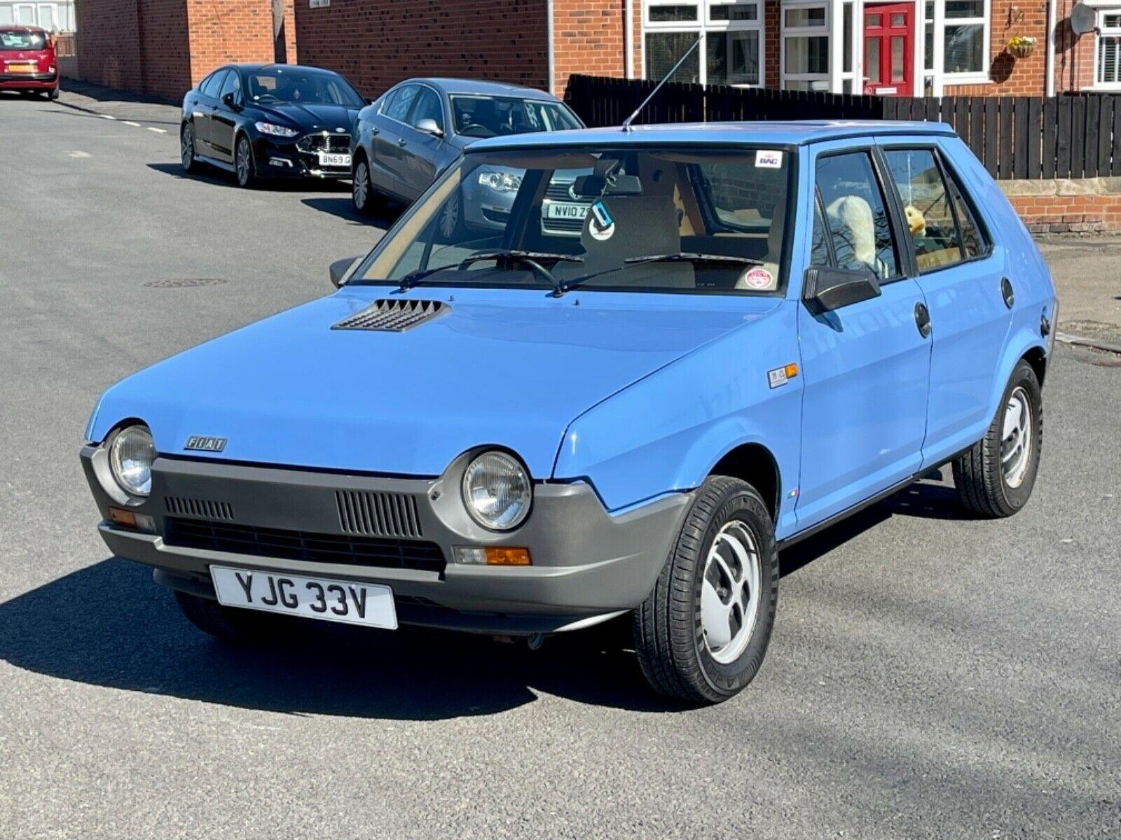 Unexceptional Classifieds: Fiat Strada 75CL Auto