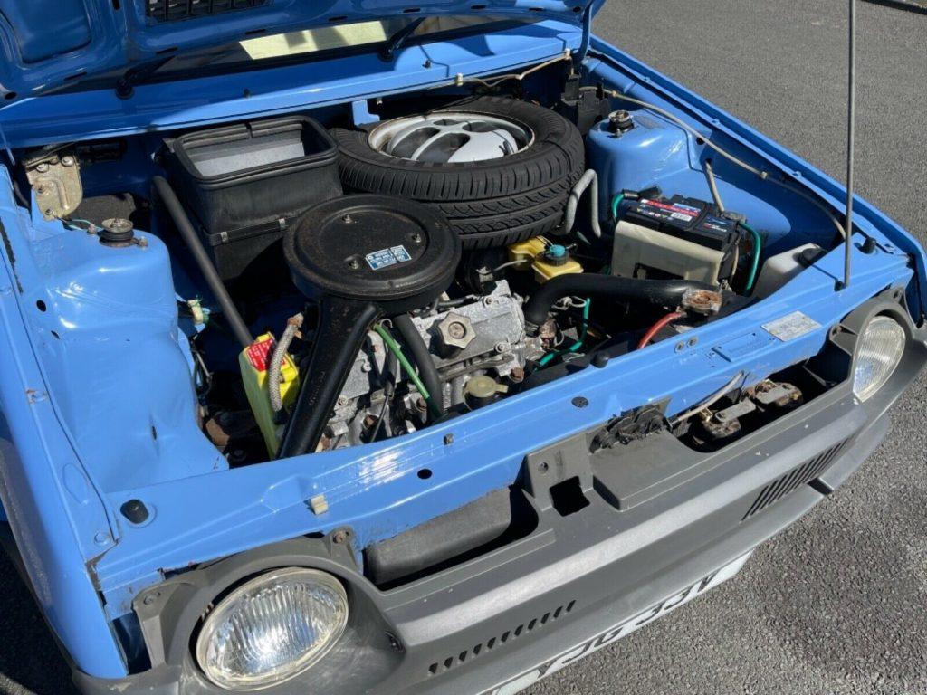1979 Fiat Strada engine