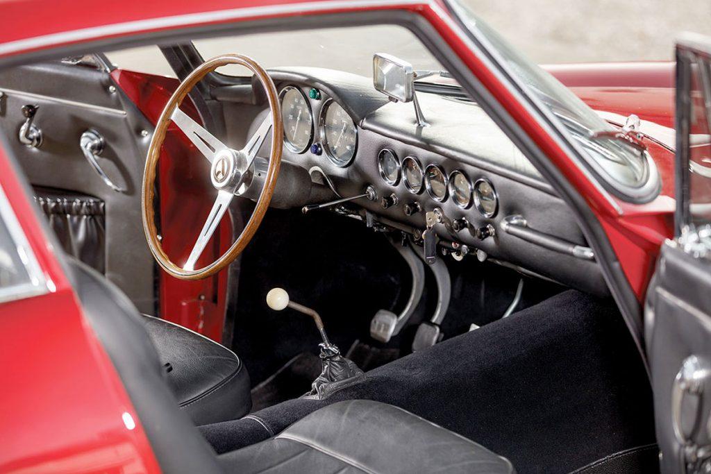 1962 Apollo GT interior