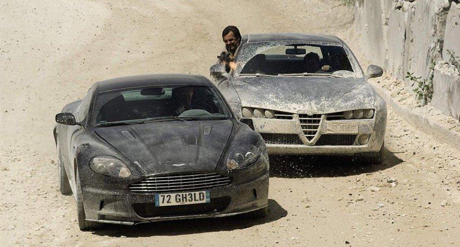 2008 Aston Martin DBS V12, Quantum of Solace