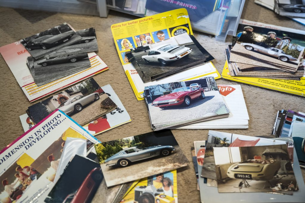 A selection of cars owned and sold by Michael Fisher