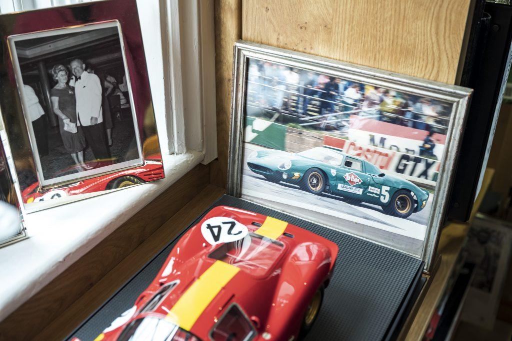 Ferrari raced by Michael Fisher