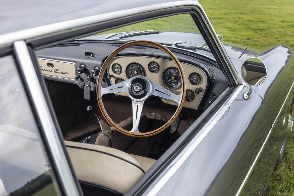 Bristol 406 Zagato interior