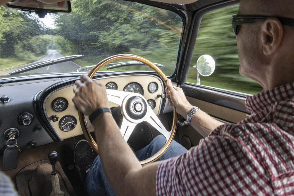 Driving the Bristol 406 Zagato