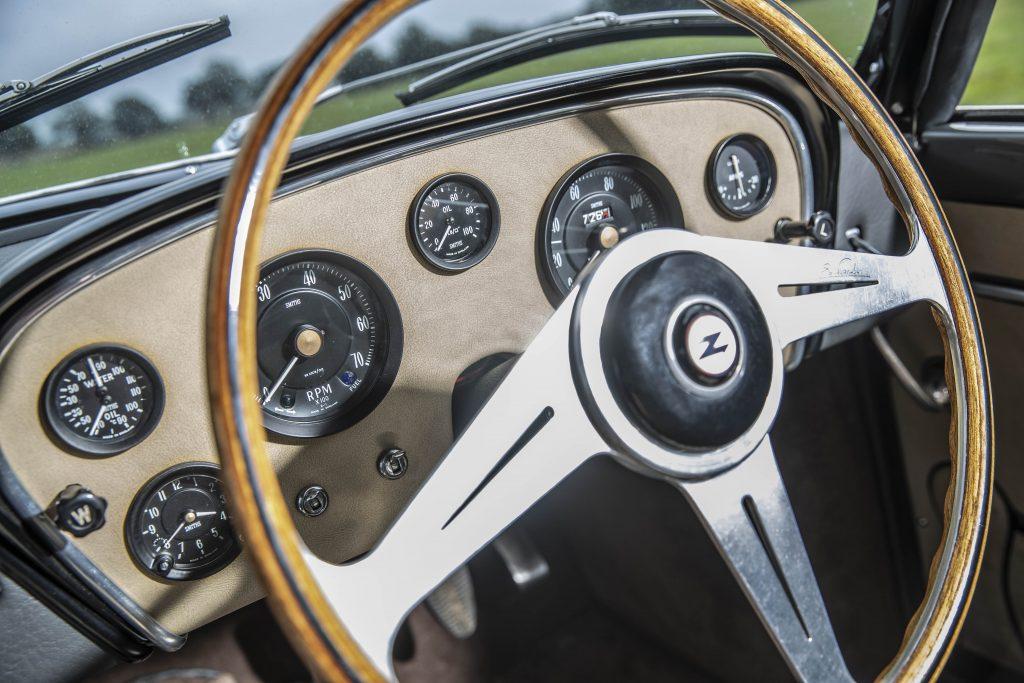 Bristol 406 Zagato steering wheel