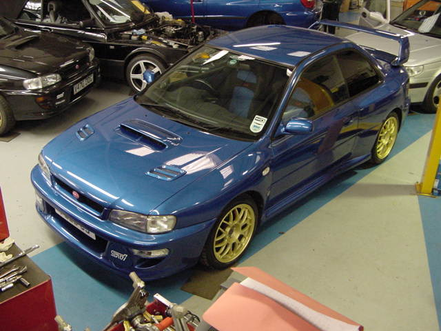 Paul Cowland's old Subaru Impreza 22B STi