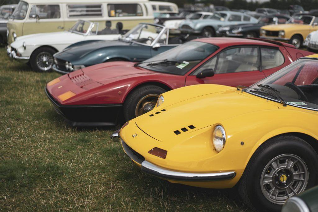 Dino 246GT and Ferrari 512 BB