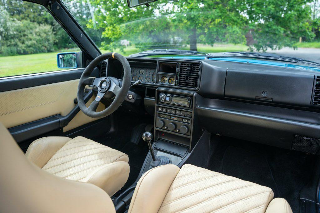 Lancia Delta Integrale Evo 2 interior