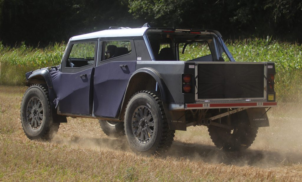 Fering Pioneer expedition vehicle 4x4