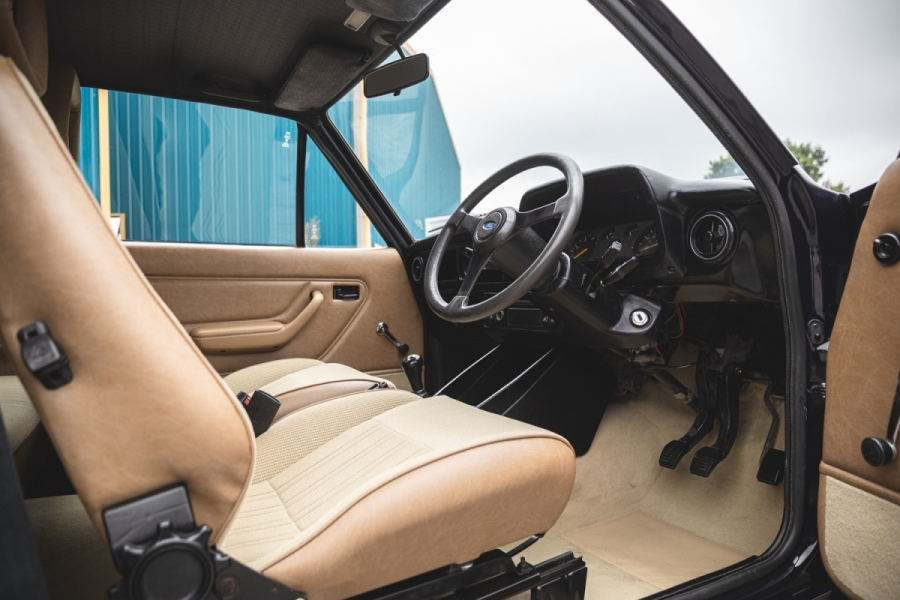 Hammond's Ford RS2000 interior