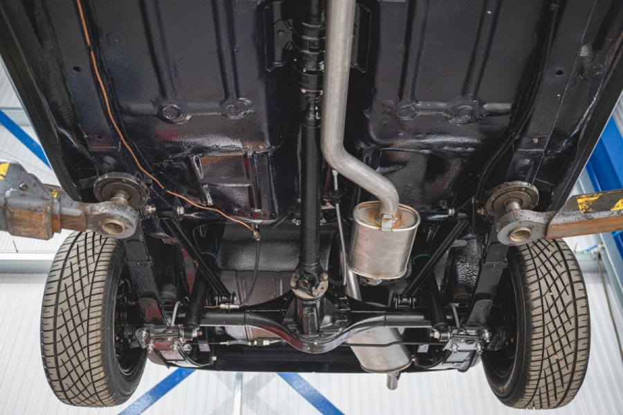 Ford RS2000 underside