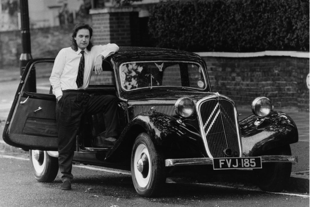 Dave Davies of The Kinks owned a Citroen Traction Avant for nine years