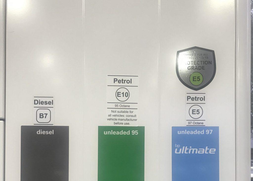 How to check E10 fuel compatibility