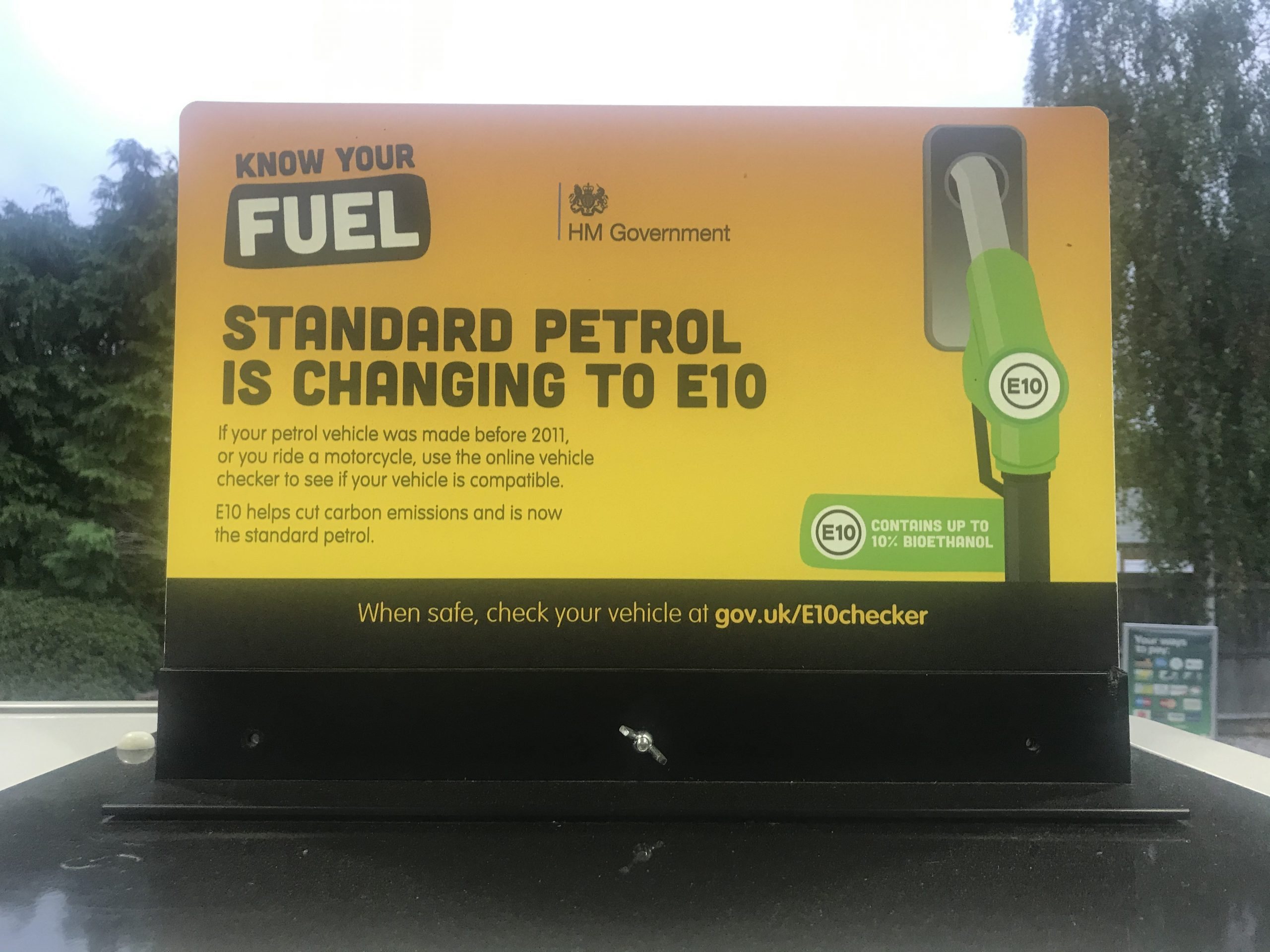 Confusion over E10 fuel as Government's car compatibility checker misleads drivers