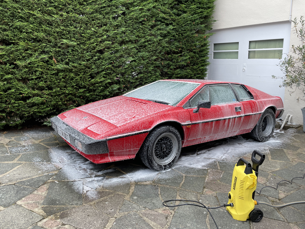 Living with a Lotus Esprit