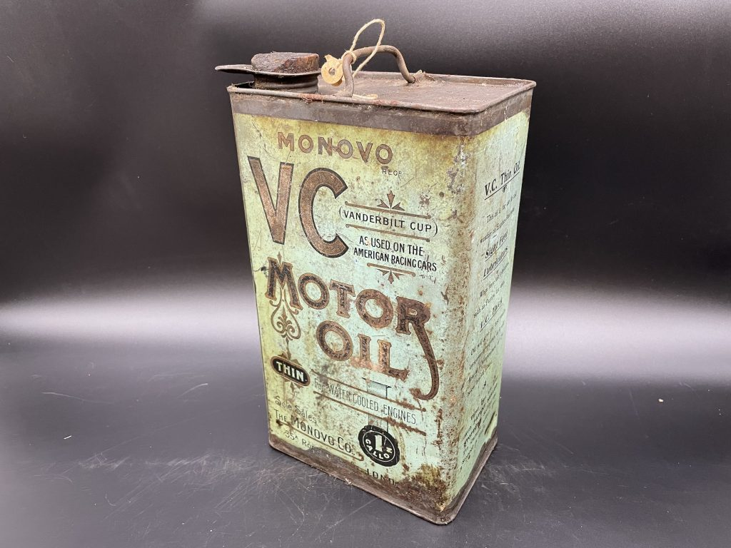 Alan Pooley petroliana collection VC motor oil can