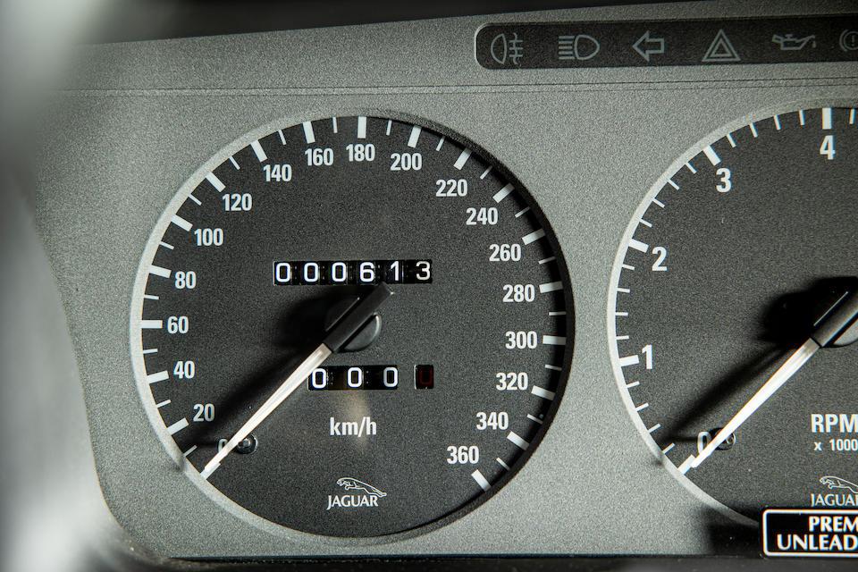Jaguar XJ220 speedo