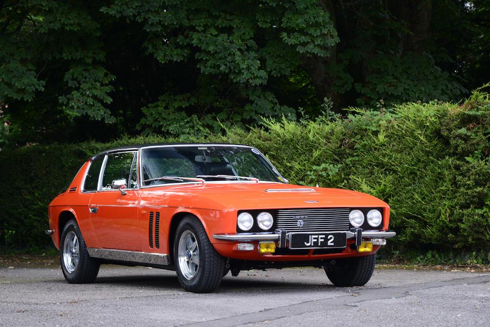 1971 Jensen FF Mk II at auction