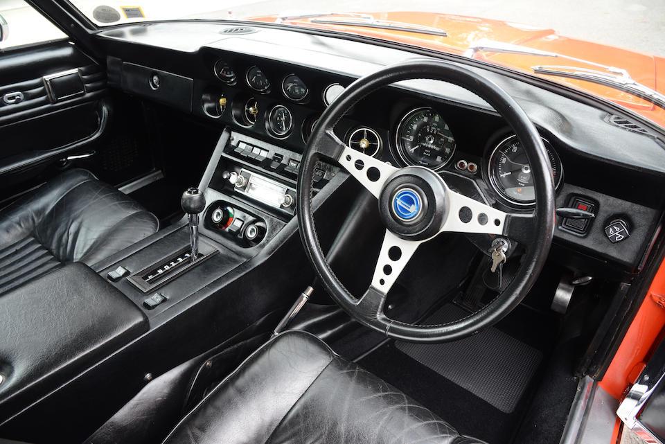 1971 Jensen FF Mk II interior