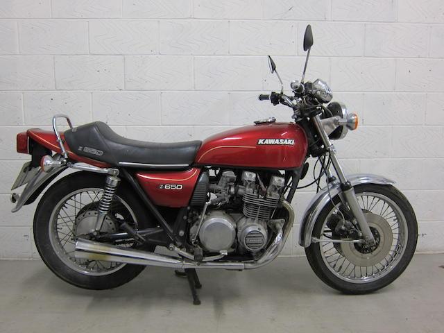 Kawasaki Z650_9 classic collector bikes to buy