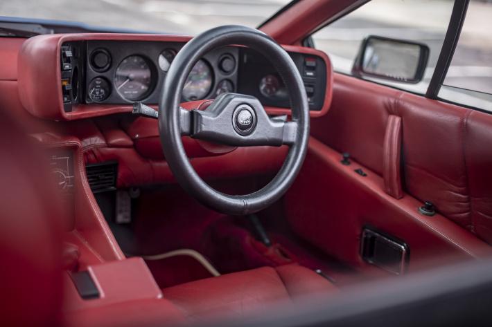 1981 Lotus Esprit Turbo Essex S3 interior