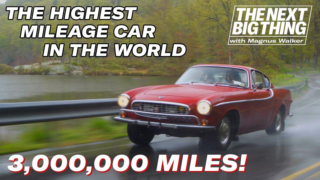 Magnus Walker drives the world's highest mileage car