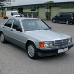 Bag yourself a Bond car with this Mercedes 190E from No Time To Die