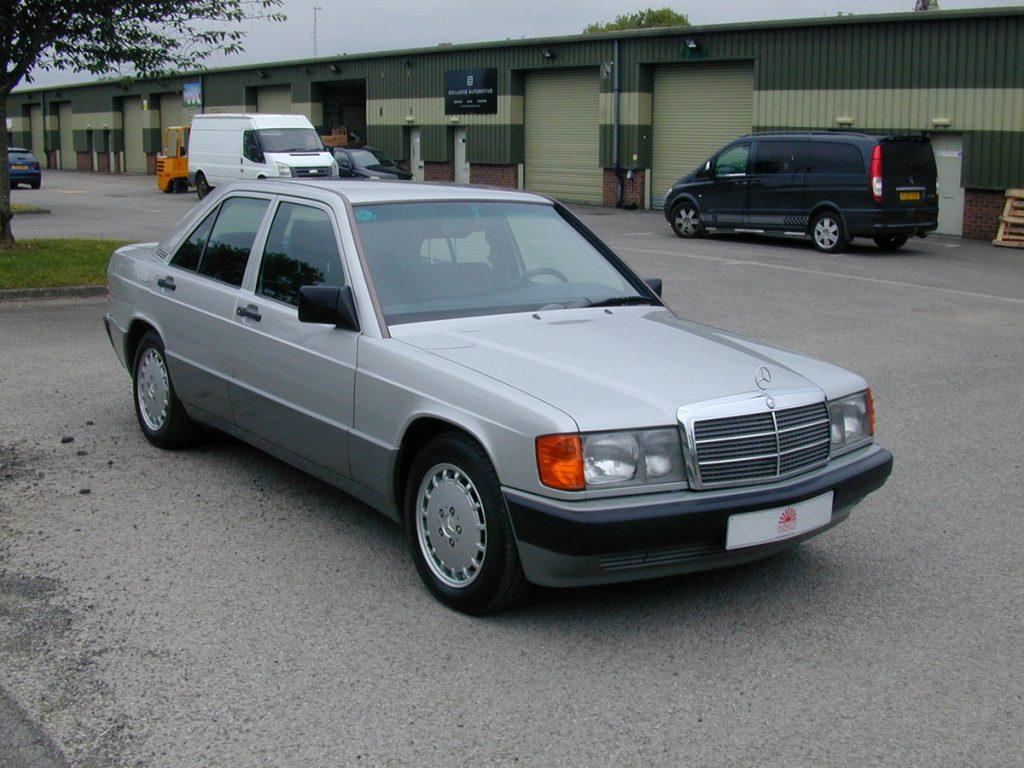 The Bond car premium effect_Mercedes 190E_No Time To Die_Car & Classic