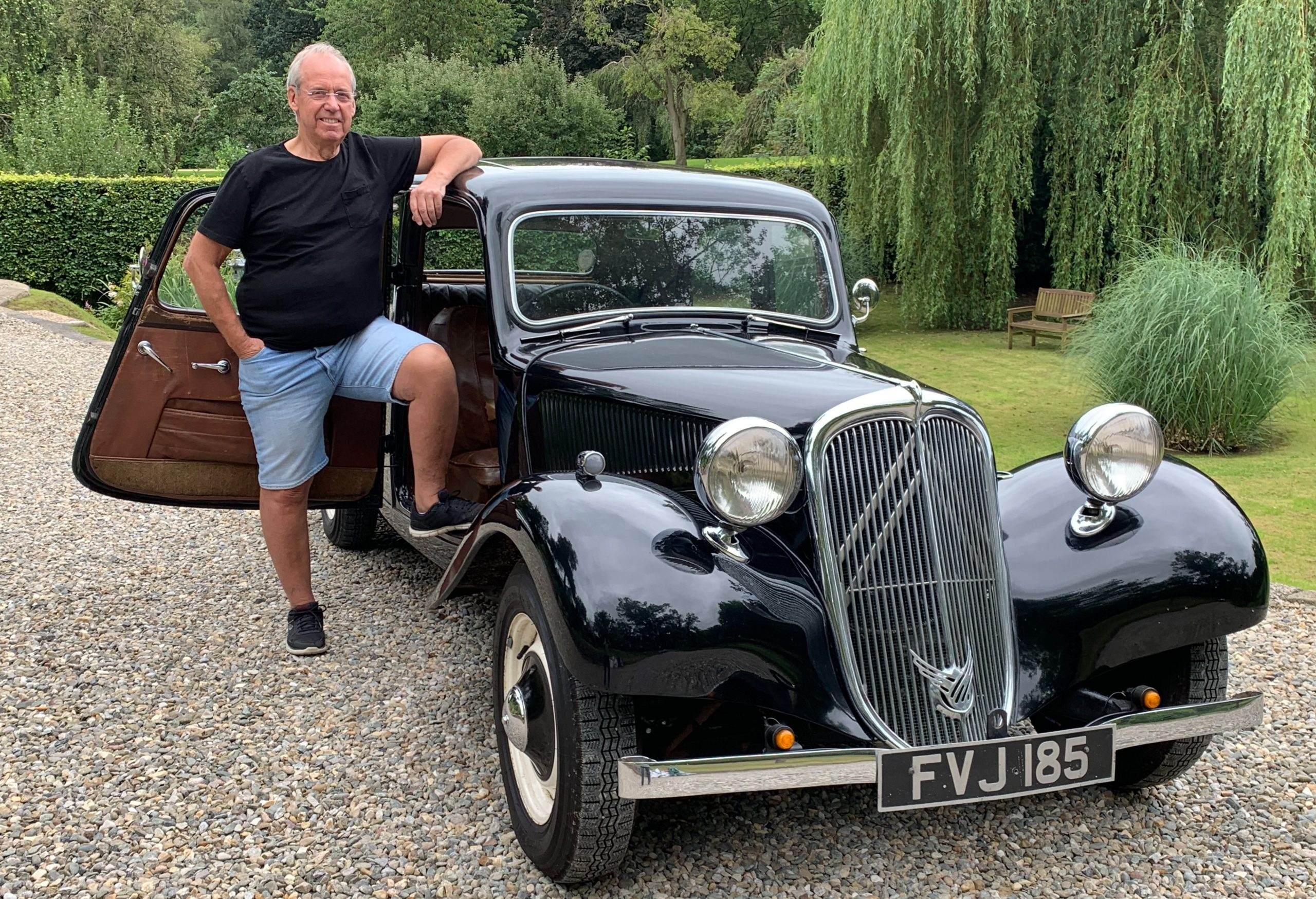 Your Classics: Mike McDonald and his Citroën Traction Avant once owned by Dave Davies of the Kinks
