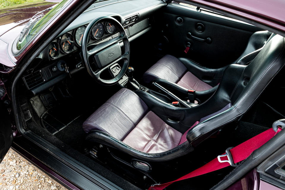 Porsche 911 Carrera RS 964 interior