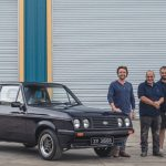 Richard Hammond and The Smallest Cog's first project – a restored Ford Escort RS2000 – could be yours