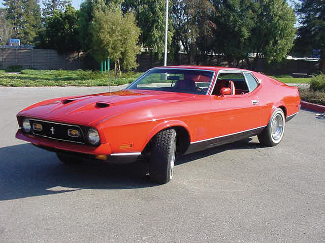 1971 Ford Mustang Mach 1 Diamonds Are Forever