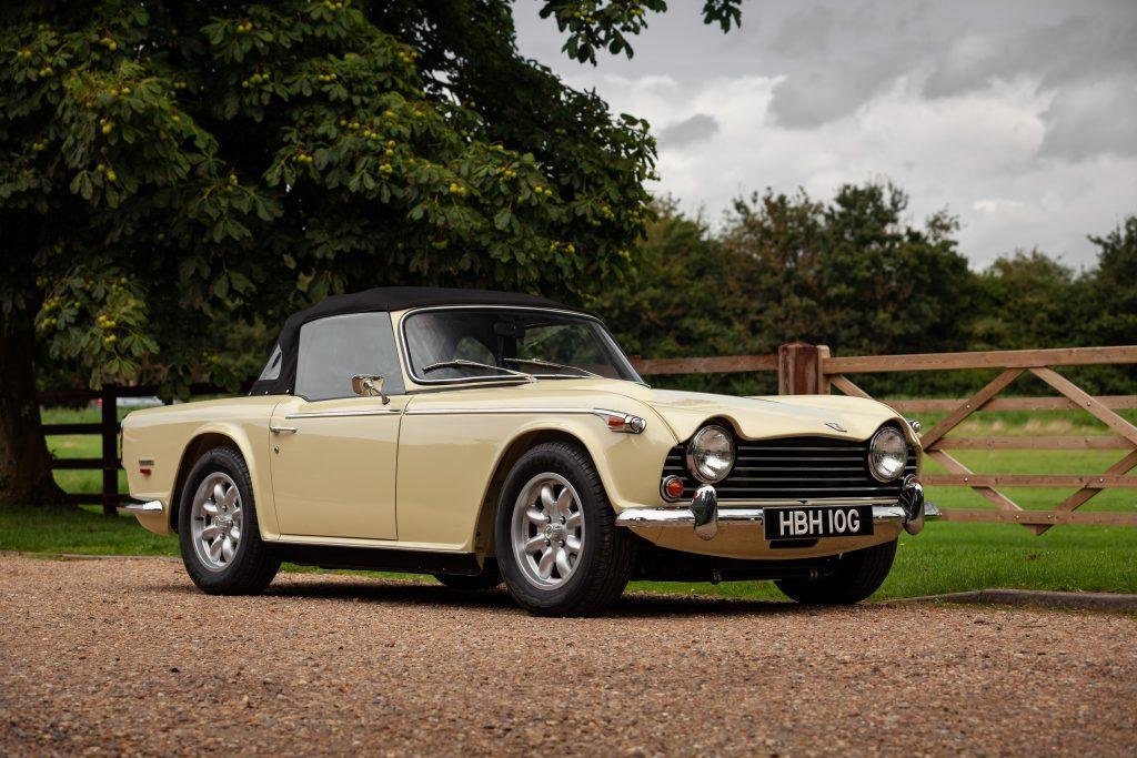 Triumph TR5 auction September 2021