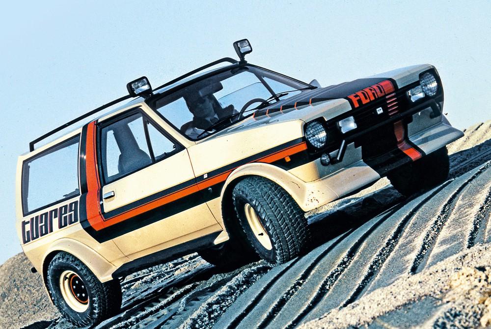 Ford Fiesta Tuareg concept