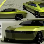 Nissan Silvia EV renders