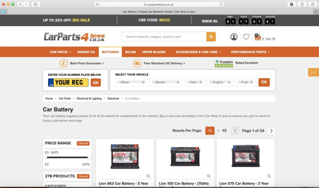 Carparts4less reviewed and rated