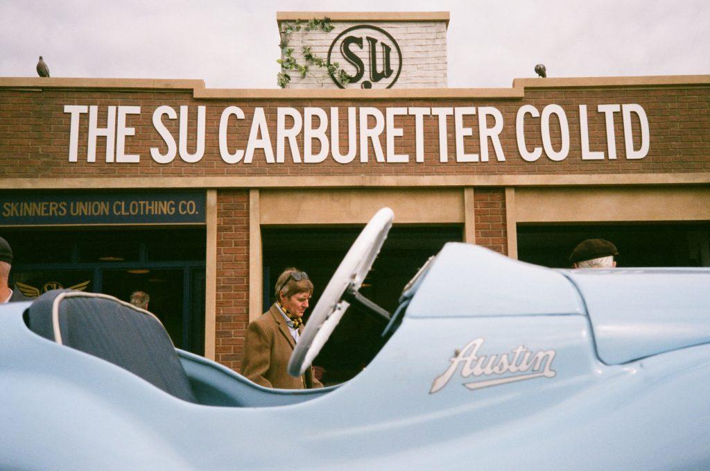 Goodwood SU carburettors