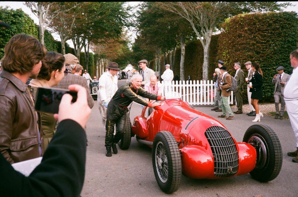 Goodwood Grand Prix car