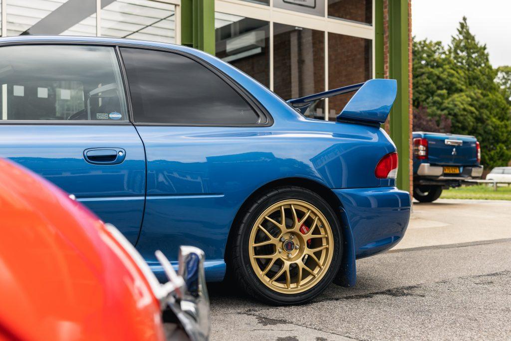 Subaru Impreza 22B STi history