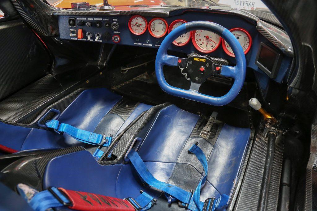 1991 Koenig C62 (Porsche 962) interior